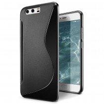 Hoesje Huawei P10 Plus TPU case zwart