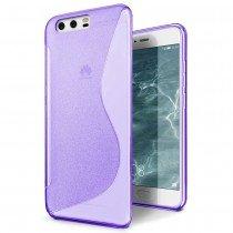 Hoesje Huawei P10 TPU case paars