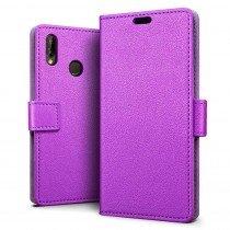 Hoesje Huawei P20 Lite flip wallet paars