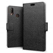 Hoesje Huawei P20 Lite flip wallet zwart