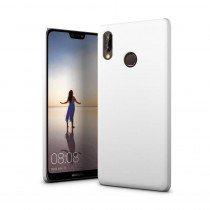 Hoesje Huawei P20 Lite hard case wit