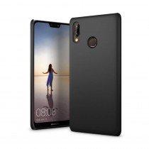 Hoesje Huawei P20 Lite hard case zwart