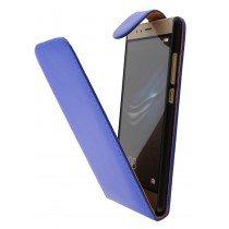 Hoesje Huawei P9 flip case blauw