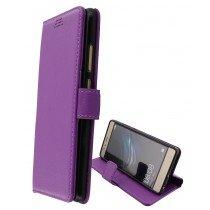 Hoesje Huawei P9 flip wallet paars