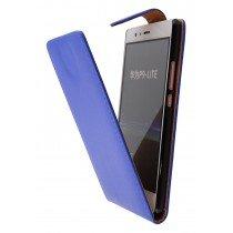 Hoesje Huawei P9 Lite flip case blauw