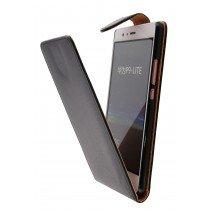 Hoesje Huawei P9 Lite flip case zwart