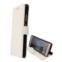 Hoesje Huawei P9 Lite flip wallet wit
