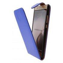 Hoesje Huawei P9 Plus flip case blauw