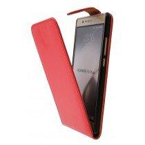 Hoesje Huawei P9 Plus flip case rood