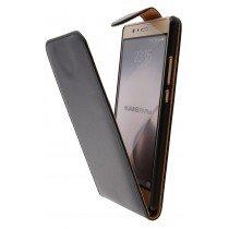 Hoesje Huawei P9 Plus flip case zwart