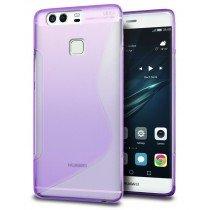 Hoesje Huawei P9 Plus TPU case paars
