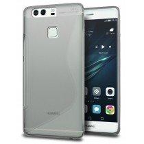 Hoesje Huawei P9 Plus TPU case smoke