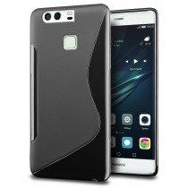 Hoesje Huawei P9 Plus TPU case zwart