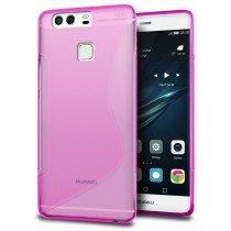 Hoesje Huawei P9 TPU case roze