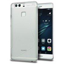 Hoesje Huawei P9 TPU case transparant