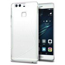 Hoesje Huawei P9 TPU case wit