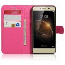 Hoesje Huawei Y5 II wallet roze