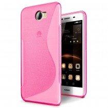 Hoesje Huawei Y5 II / Y5 2 TPU case roze