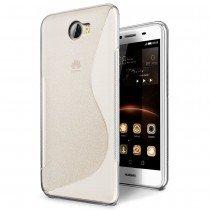 Hoesje Huawei Y5 II / Y5 2 TPU case transparant