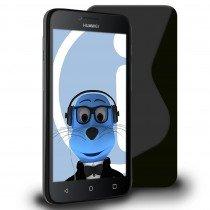 Hoesje Huawei Y5 / Y560 TPU case zwart
