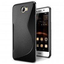 Hoesje Huawei Y6 II Compact TPU case zwart