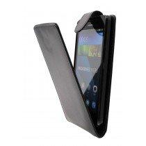 Hoesje Huawei Y635 flip case zwart - Open