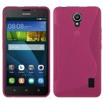 Hoesje Huawei Y635 TPU case roze
