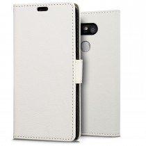 Hoesje LG G5 flip wallet wit