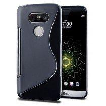 Hoesje LG G5 TPU case zwart