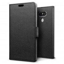 Hoesje LG G6 flip wallet zwart