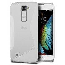 Hoesje LG K10 TPU case transparant