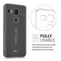 Hoesje LG Nexus 5X bumper - 0,3mm - doorzichtig