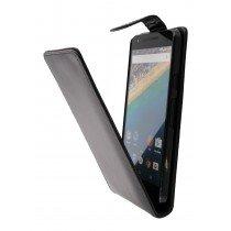 Hoesje LG Nexus 5X flip case zwart - Open