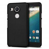 Hoesje LG Nexus 5X hard case zwart