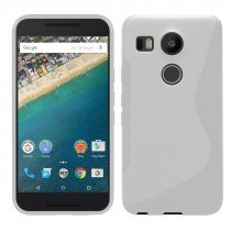 Hoesje LG Nexus 5X TPU case transparant
