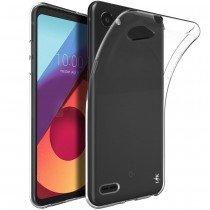 Hoesje LG Q6 Flexi bumper - 0,3mm