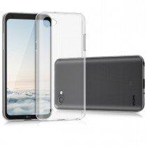 Hoesje LG Q6 hard case transparant