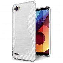 Hoesje LG Q6 TPU case transparant