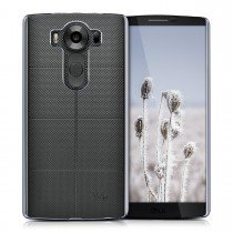 Hoesje LG V10 hard case transparant