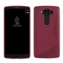 Hoesje LG V10 TPU case roze