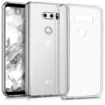 Hoesje LG V30 hard case transparant