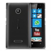 Hoesje Microsoft Lumia 430 hard case transparant