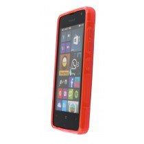 Hoesje Microsoft Lumia 430 TPU case roze - Voorkant
