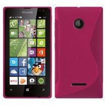 Hoesje Microsoft Lumia 435 TPU case roze