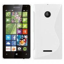 Hoesje Microsoft Lumia 435 TPU case transparant