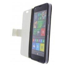 Open - Hoesje Microsoft Lumia 640 flip wallet wit