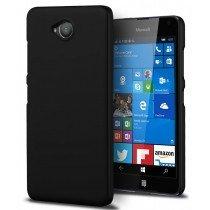 Hoesje Microsoft Lumia 650 hard case zwart