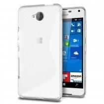 Hoesje Microsoft Lumia 650 TPU case transparant