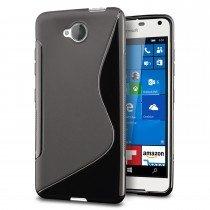Hoesje Microsoft Lumia 650 TPU case zwart