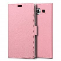 Hoesje Microsoft Lumia 950 flip wallet roze